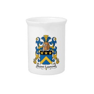 Escudo de la familia de Saint Laurent Jarra