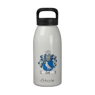 Escudo de la familia de Sala Botellas De Agua Reutilizables