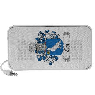 Escudo de la familia de Sala iPod Altavoz