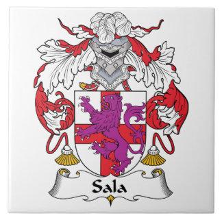 Escudo de la familia de Sala Tejas Cerámicas