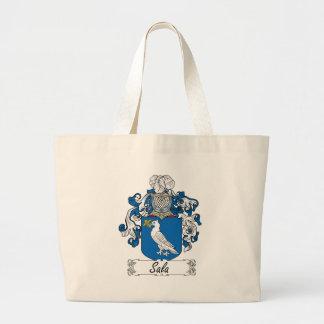 Escudo de la familia de Sala Bolsa Tela Grande