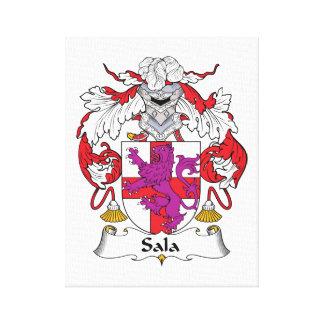 Escudo de la familia de Sala Impresiones En Lona Estiradas
