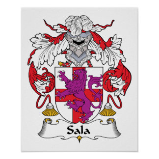 Escudo de la familia de Sala Posters