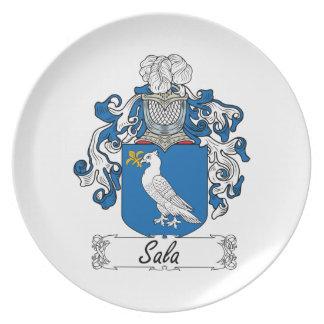 Escudo de la familia de Sala Plato