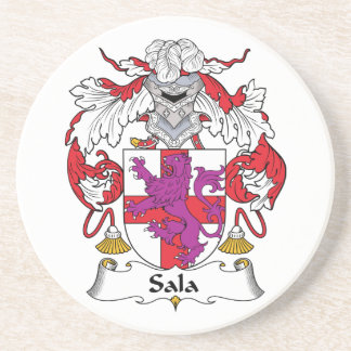 Escudo de la familia de Sala Posavasos Personalizados