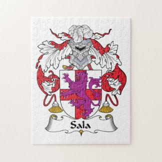 Escudo de la familia de Sala Puzzles Con Fotos