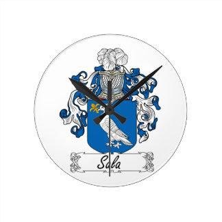 Escudo de la familia de Sala Reloj