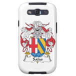 Escudo de la familia de Salas Samsung Galaxy S3 Cárcasa