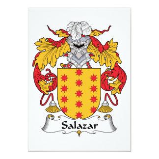 Escudo de la familia de Salazar Comunicado Personalizado
