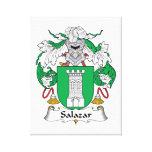 Escudo de la familia de Salazar Lona Estirada Galerías