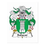 Escudo de la familia de Salazar Postales