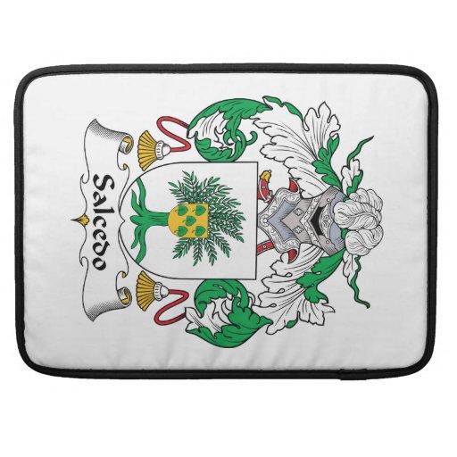 Escudo de la familia de Salcedo Funda Para Macbook Pro