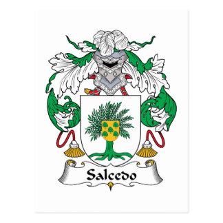 Escudo de la familia de Salcedo Postales