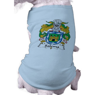 Escudo de la familia de Salema Camiseta De Mascota