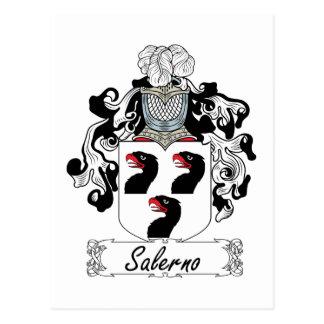 Escudo de la familia de Salerno Tarjetas Postales