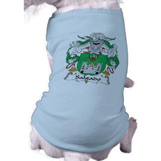 Escudo de la familia de Salgado Camisetas De Mascota