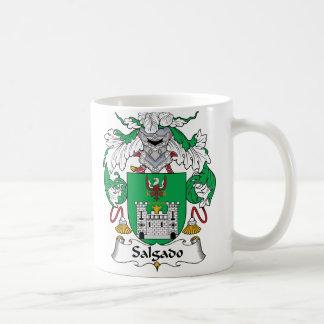 Escudo de la familia de Salgado Tazas De Café