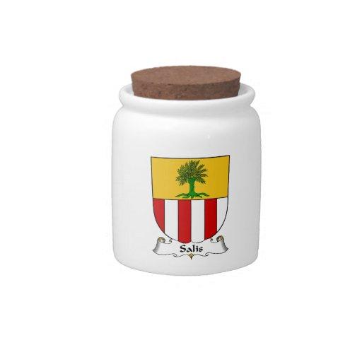 Escudo de la familia de Salis Jarras Para Caramelos
