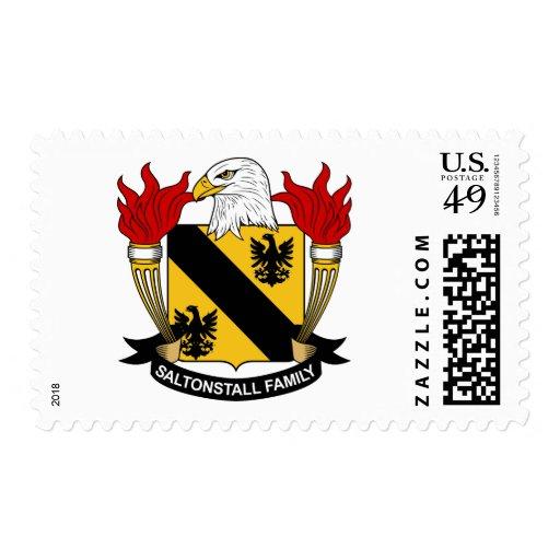 Escudo de la familia de Saltonstall Envio