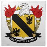 Escudo de la familia de Saltonstall Servilleta De Papel