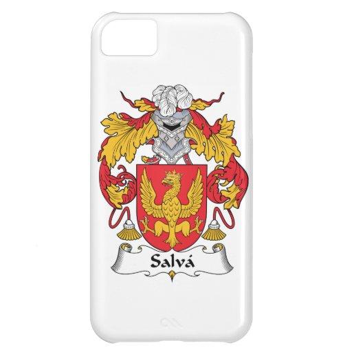 Escudo de la familia de Salva Funda Para iPhone 5C
