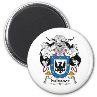 Escudo de la familia de Salvador Imán Redondo 5 Cm