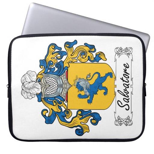 Escudo de la familia de Salvador Mangas Portátiles