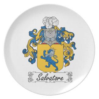 Escudo de la familia de Salvador Plato De Cena