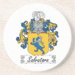 Escudo de la familia de Salvador Posavasos Diseño