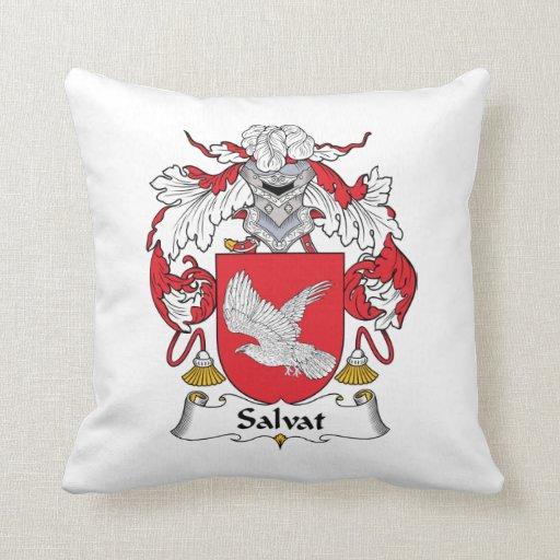 Escudo de la familia de Salvat Almohada