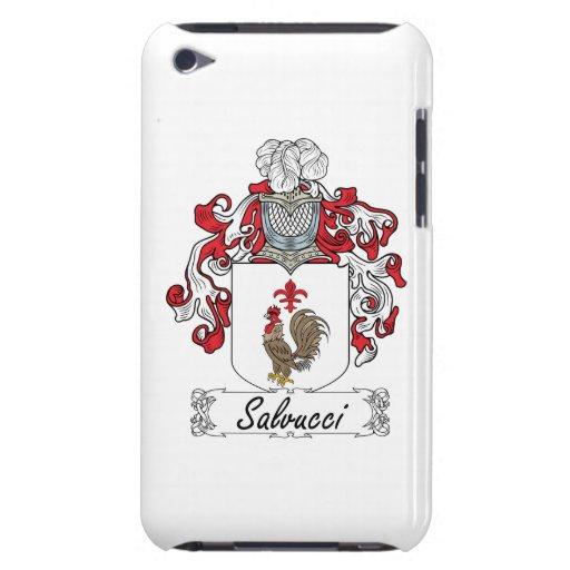 Escudo de la familia de Salvucci iPod Touch Case-Mate Coberturas