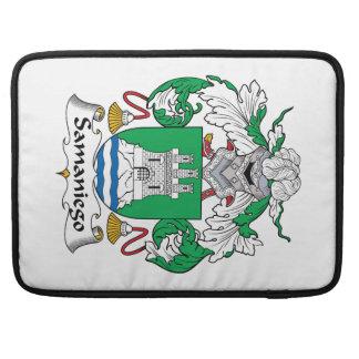 Escudo de la familia de Samaniego Funda Macbook Pro