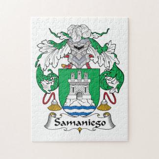 Escudo de la familia de Samaniego Puzzles Con Fotos