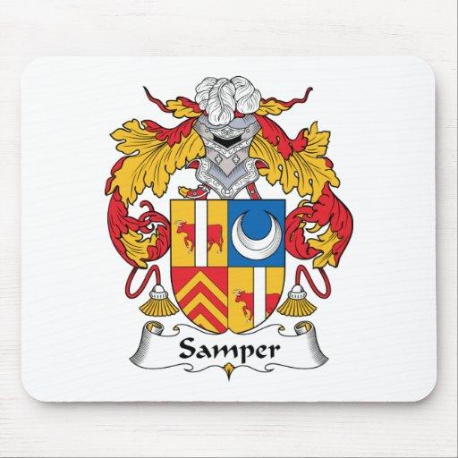 Escudo de la familia de Samper Tapetes De Ratones