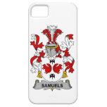 Escudo de la familia de Samuels iPhone 5 Protectores