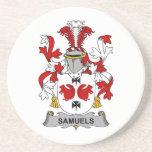 Escudo de la familia de Samuels Posavasos Diseño