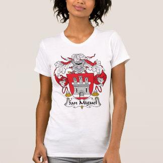 Escudo de la familia de San Miguel T Shirt
