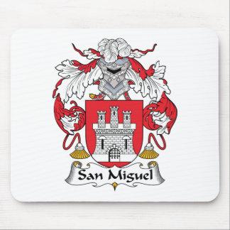 Escudo de la familia de San Miguel Alfombrilla De Raton