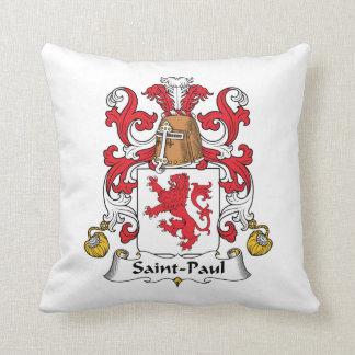 Escudo de la familia de San Pablo Almohadas