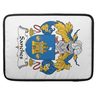 Escudo de la familia de Sanches Funda Macbook Pro
