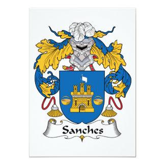 Escudo de la familia de Sanches Comunicados Personalizados