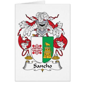 Escudo de la familia de Sancho Tarjeton