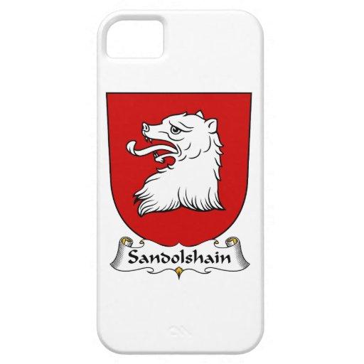 Escudo de la familia de Sandolshain iPhone 5 Case-Mate Funda