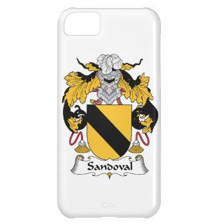 Escudo de la familia de Sandoval Carcasa Para iPhone 5C
