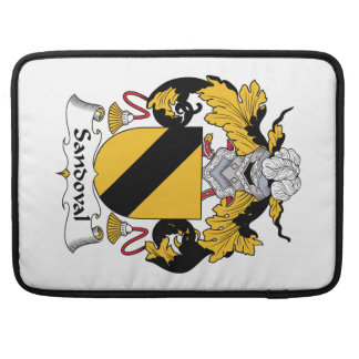 Escudo de la familia de Sandoval Fundas Macbook Pro