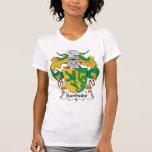Escudo de la familia de Sanhudo Camisetas