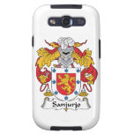 Escudo de la familia de Sanjurjo Galaxy SIII Protectores