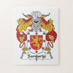Escudo de la familia de Sanjurjo Rompecabeza