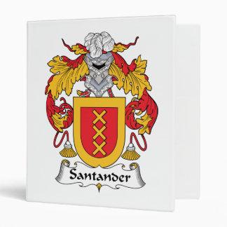 Escudo de la familia de Santander
