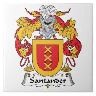 Escudo de la familia de Santander Azulejos Cerámicos